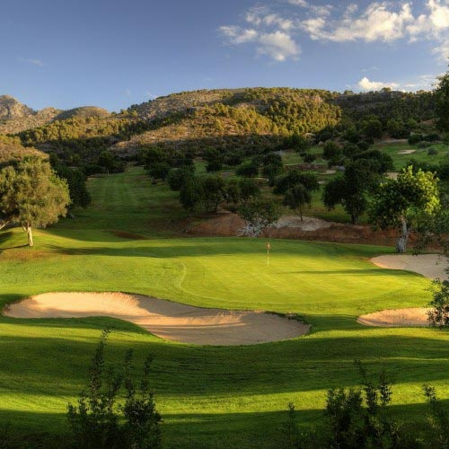 Golf Son Termens and Sierra de Tramuntana